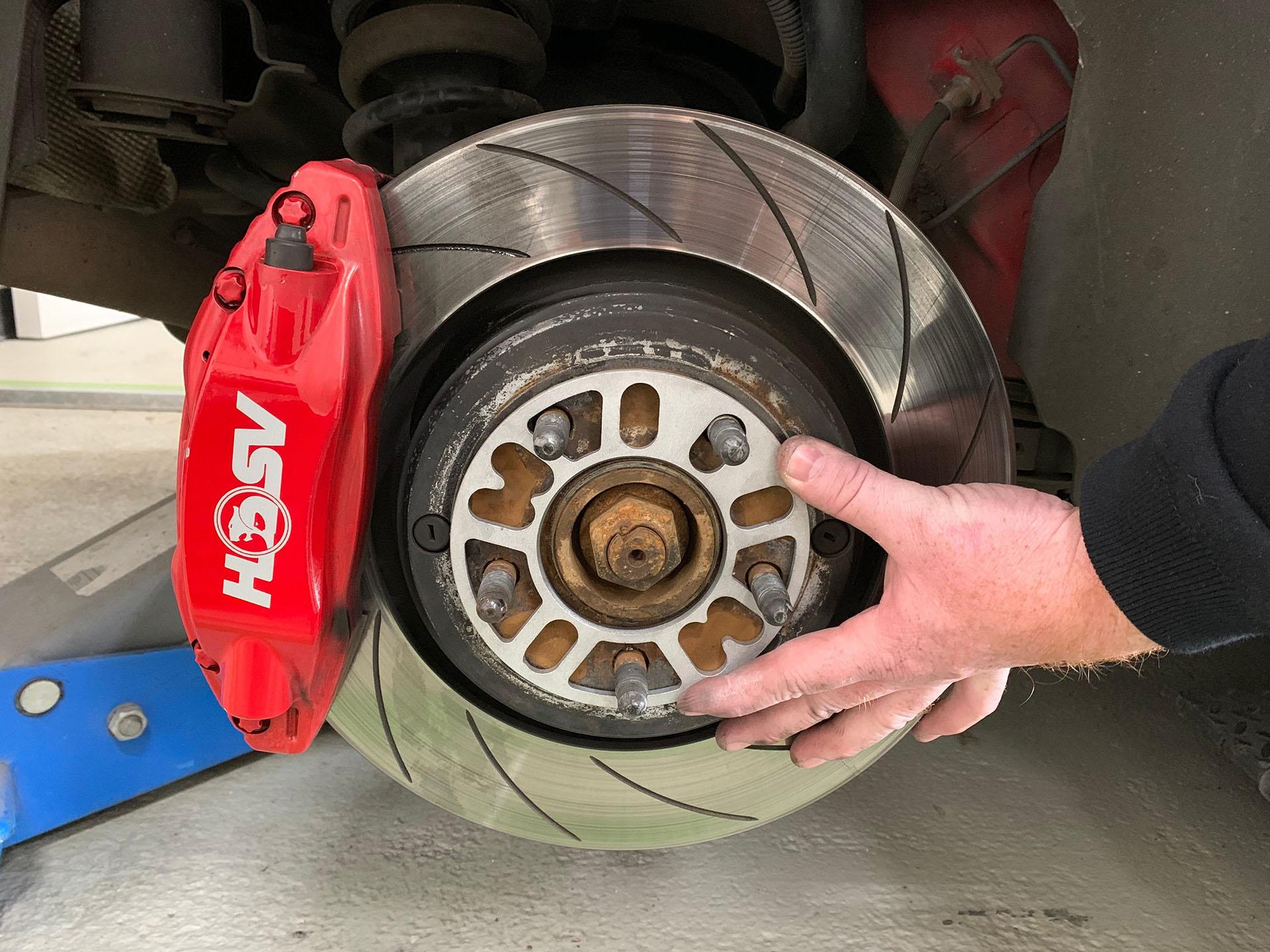 wheel break disk